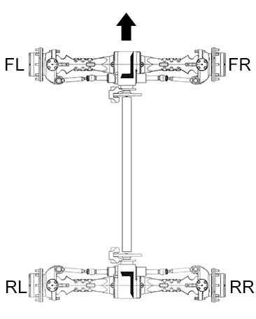 axle serial plate